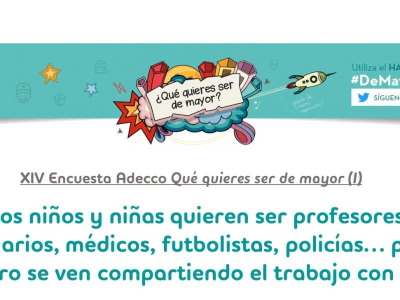 #demayorquieroser, adecco, programapublicidad,