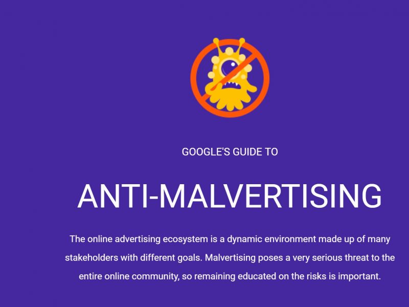 google, guide, antimalvertising , programapublicidad,