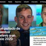Patrocinio de 288.750 euros de SELAE a RTVE del Mundial de Natación 2019.