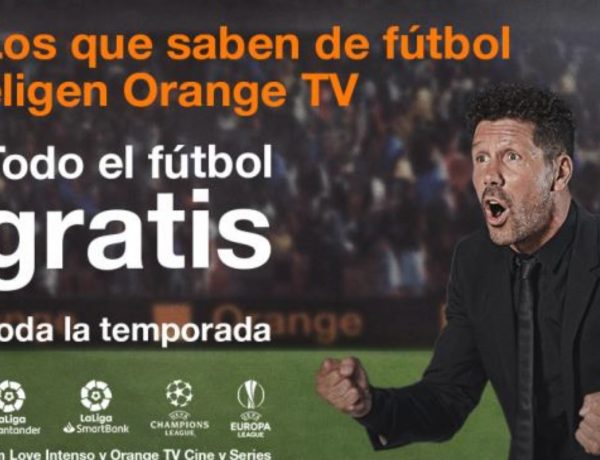 simeone, orange tv, futbol , gratis, programapublicidad,