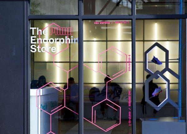 the endorphine store, puma, programapublicidad,