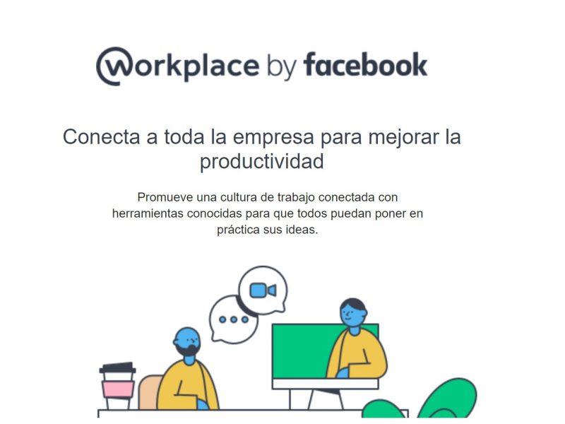 workplace by facebook, programapublicidad,