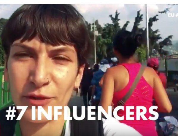 #7INFLUENCERS, Grupo INRED , 7 voluntarios , Acción Contra el Hambre, eu aid volunteers, intro, rogramapublicidad,