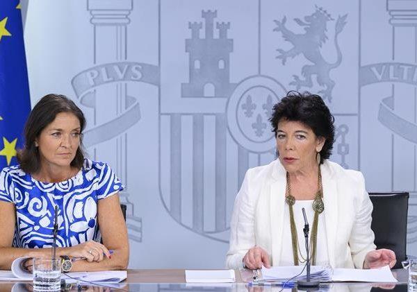 Consejo de Ministros, Celaá , Reyes Maroto, programapublicidad,