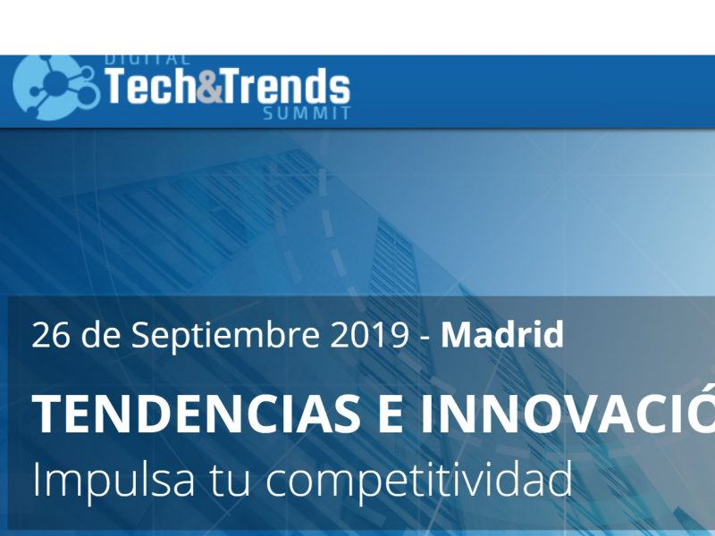 Digital ,Tech & Trends Summit , 2019, programapublicidad,