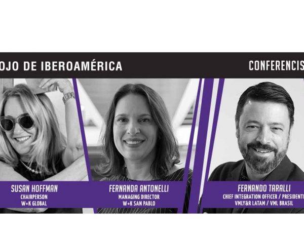 El Ojo de Iberoamérica , Conferencistas, speakers, ponentes, Susan Hoffman, Fernanda Antonelli ,Fernando Taralli, programapublicidad,