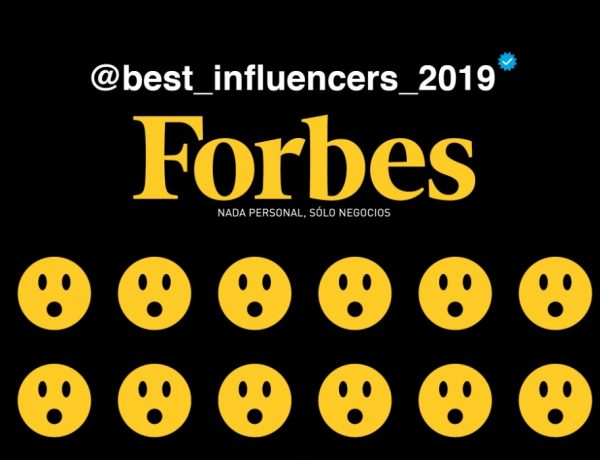 Forbes , presenta ,lista , The Best Influencers ,2019, programapublicidad,