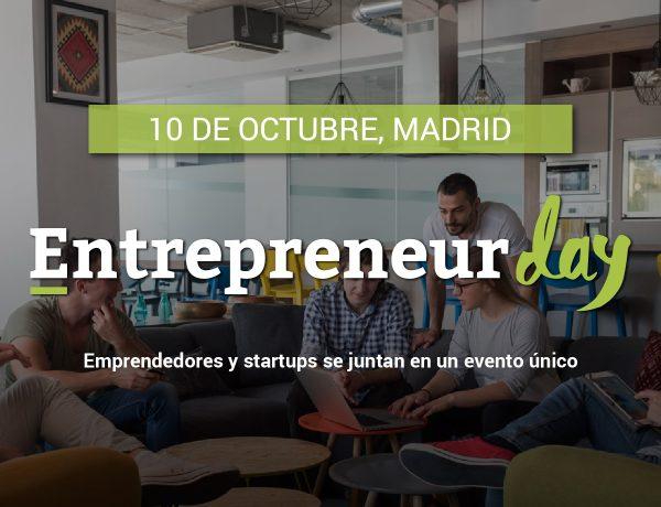 Madrid ,Entrepreneur Day, evento , startups, programapublicidad,