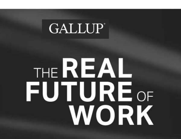 The Real Future , of Work, último informe ,Gallup, programapublicidad,