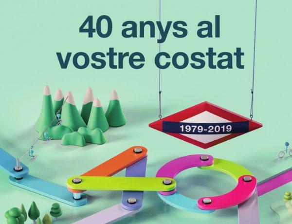 Ogilvy Barcelona, crea imagen del 40 aniversario de Ferrocarriles Catalunya. Se trata de la creación, por parte de Ogilvy Barcelona, de la imagen que conmemora el 40 aniversario de Ferrocarriles de la Generalitat de Catalunya.