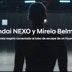 Hyundai e Innocean Spain, retan a Mireia Belmonte a respirar tubo de escape.