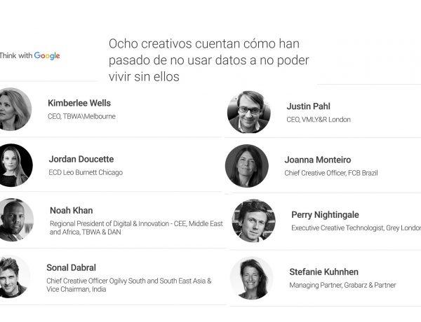 ocho creativos, think google, datos, programapublicidad,