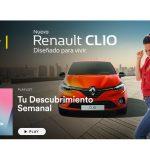 Spotify cierra primer patrocinio con Renault de la playlist 'Descubrimiento semanal'.