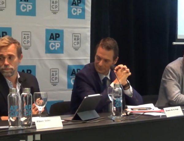 presidente de APCP, Albert Soler,, comision productoras, aea, programapublicidad,