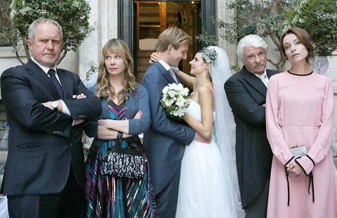 una boda ,en roma ,antena 3, multicine, programapublicidad,