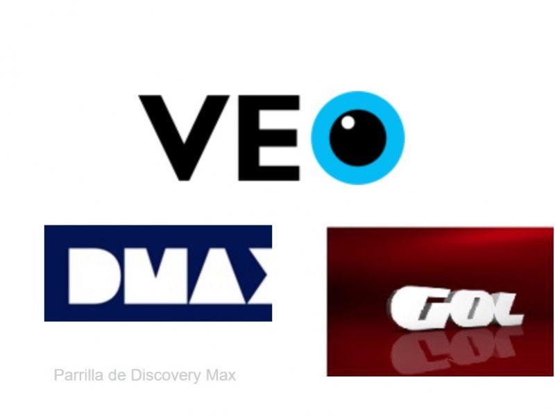 veo, tv, dmax, gol tv, programapublicidad,