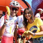 Plátano de Canarias fruta oficial de La Vuelta.