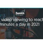 La visualización de video online alcanzará los 100 minutos/día en 2021 según Zenith