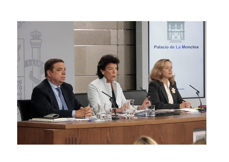 Consejo de Ministros, Celaá, Planas ,Calviño, 11 octubre, programapublicidad,