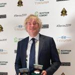 Didier Lagae, Global PR Executive Of The Year. enj los IBA Awards 2019.
