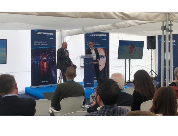 Francisco Martínes, CEO , Straub Druck & Medien AG, Aries ,Grupo de Comunicación, Fujifilm , Asociación de Marketing de España, Jet Press 750S, programapublicidad,