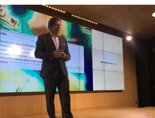 Joan Jordi Vallverdu, CEO , Omnicom Media Group Spain, presenta ,II edición ,Brand Ocean, OMD., programapublicidad, muy grande