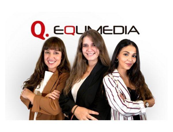 Laura Camazón, nueva Digital Manager de EQUMEDIA, Elena Aragón , Mar Inda, Digital Project Managers , agencia de medios ,Grupo Zertem, programapublicidad,