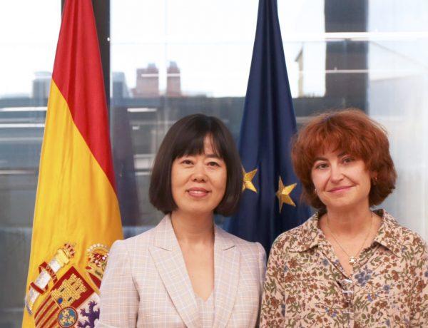María Peña, CEO, ICEX España, Exportación , Inversiones, Xin Wang, CEO ,Chunbo, programapublicidad,