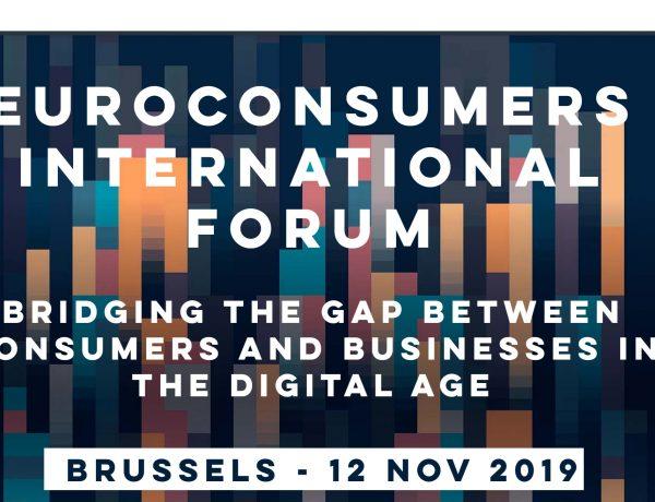 OCU, Foro Internacional ,Euroconsumers, programapublicidad,