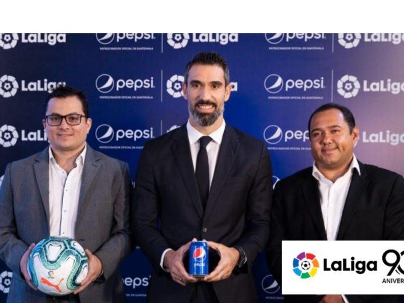 Pepsi, LaLiga , Guatemala, programapublicidad,