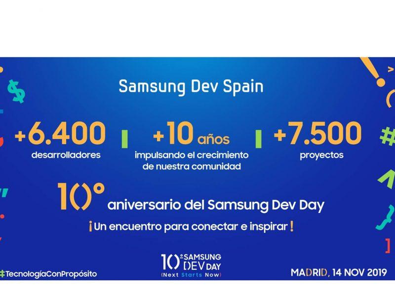 Samsung ,Dev Day Inscripciones abiertas , 10ª edición, programapublicidad,