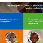 Manifiesto colaborará con Acción Contra el Hambre en consolidar compromiso contra desnutrición.