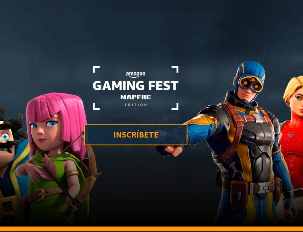amazon gaming fest, arena, programapublicidad,