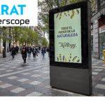 Primera campaña programática en España en OOH con Kellogg´s.