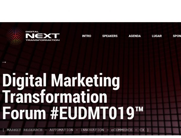 digital next, transformatiion,#EUDMT019,programapublicidad