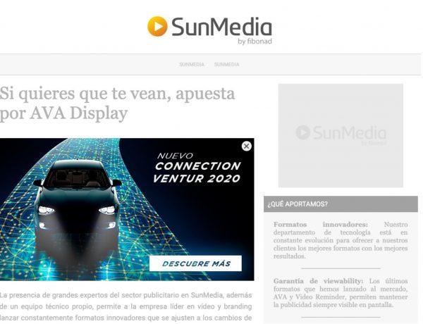 formato, display, sunmedia, siempre visible, programapublicidad,