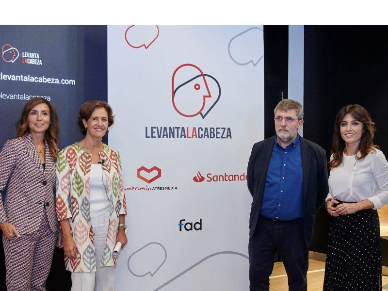 #levantalacabeza, Elena Alti Ortiz, Beatriz Martín Padura, Mario Tascón , Helena Resano, santander, fad, programapublicidad,