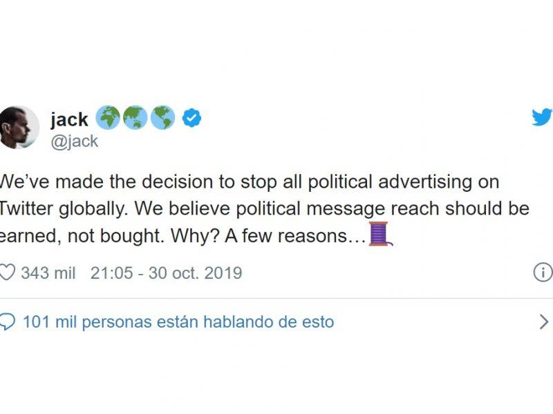 tuit, CEO , Twitter, Jack Dorsey, programapublicidad,