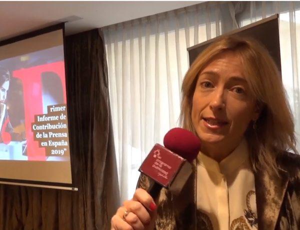 Concha Iglesias, socia directora , Medios y Entretenimiento , Deloitte, presenta, informe , esfera fiscal, prensa española, AMI, DELOITTE, micro, programapublicidad