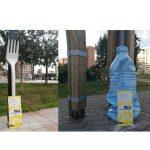 Ogilvy Barcelona crea #EvitaElsPlàsTICS street marketing en Barcelona .