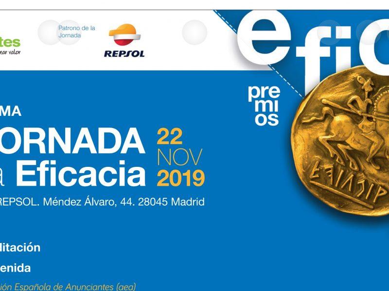 IX Jornada, eficacia, nov, 2019, repsol, programapublicidad