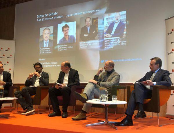 Jordi Urbea, vicepresidente , Ogilvy , España , CEO , Ogilvy Barcelona, informe, Entertainment and Media Outlook 2019-2023 , España, PriceWaterhouseCooper, programapublicidad
