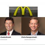 Steve Easterbrook deja la presidencia de McDonald's, a Kempczinski, por relación con un empleado.