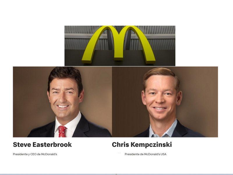 McDonalds, , Easterbrook , reemplazado , presidente ,CEO ,Chris Kempczinski, , programapublicidad,