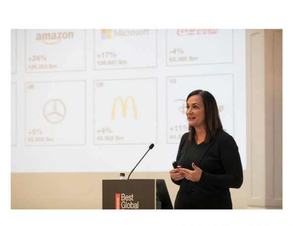 Nancy Villanueva, Directora General , Interbrand, best global brands, programapublicidad