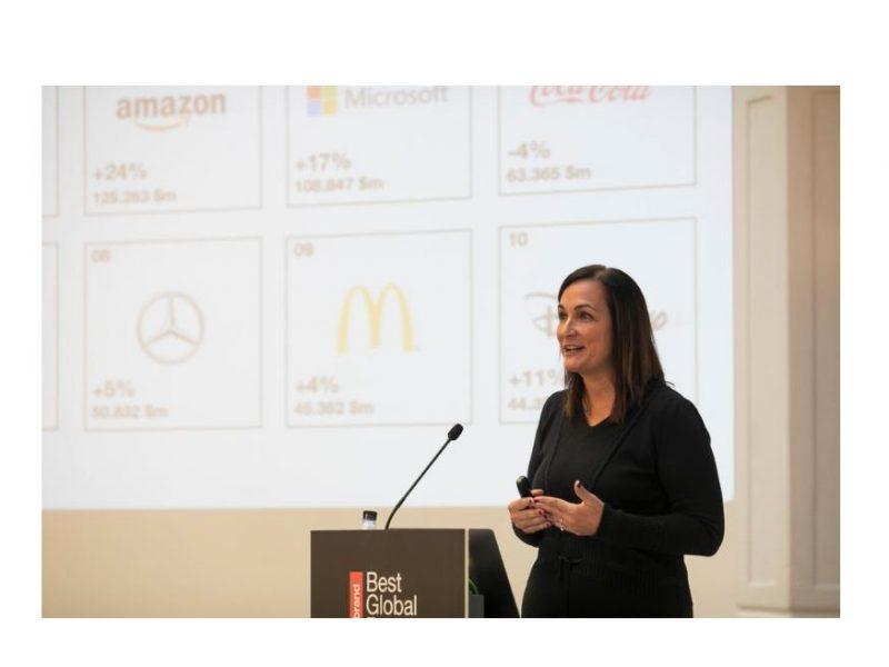 Nancy Villanueva, Directora General , Interbrand, best global brands, programapublicidad