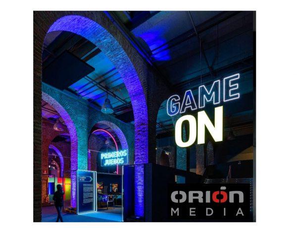 Orión Media , gana , concurso , medios , Exposición, Game On, programapublicidad