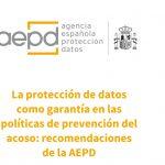 La AEPD presenta iniciativas para fomentar privacidad de víctimas de género.