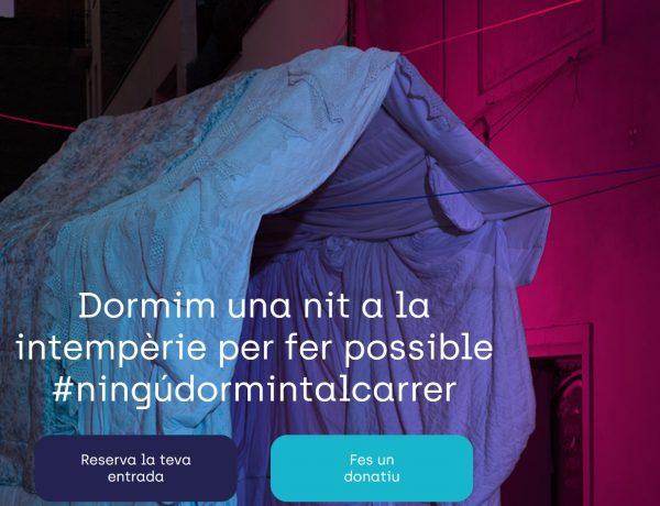 arrels, reserva, intemperie, barcelona, manifiesto, #ningudormintalcarrer, programapublicidad