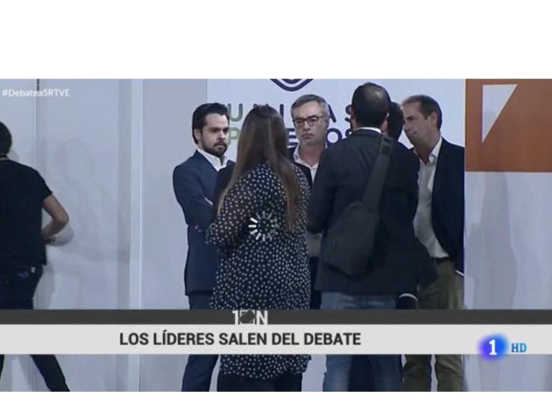 #debatea5rtve,lideres salen, programapublicidad